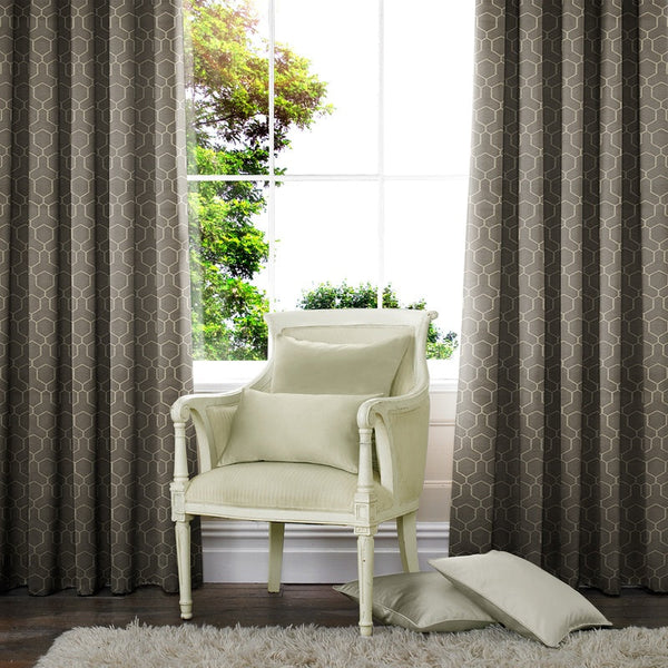 Oxy Made to Measure Curtains Grey