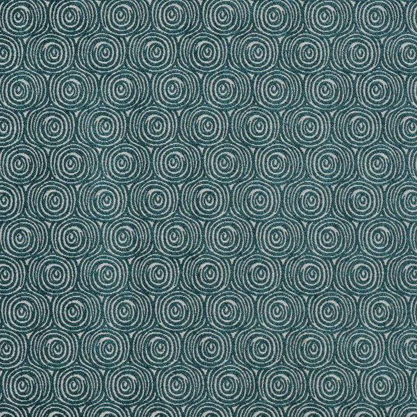 Odyssey Curtain Fabric Teal