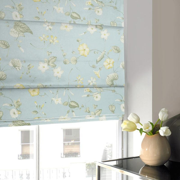 Ohio Roman Blind Forget Me Not