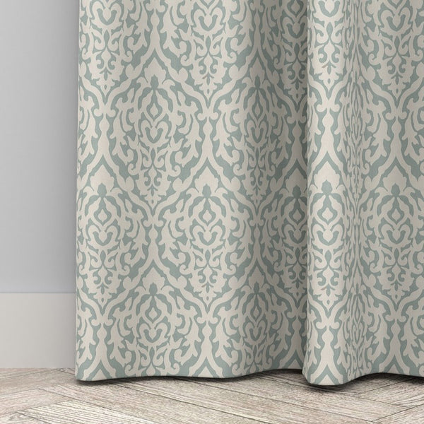 Orchid Curtains Seafoam