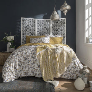 FatFace - Oriental Bird Bedding Collection Ochre