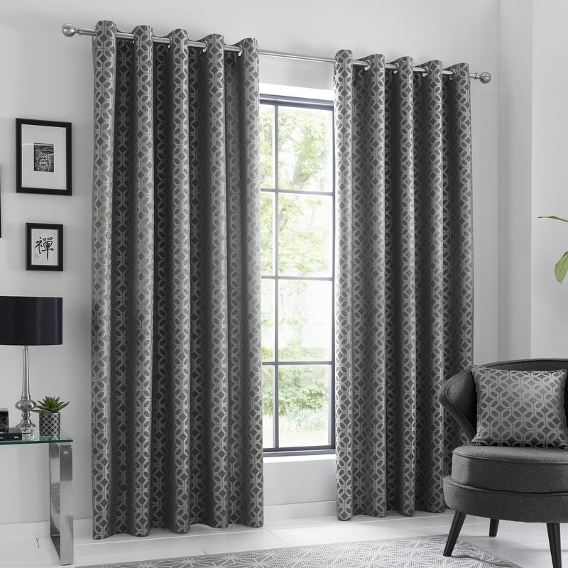 J Rosenthal Ready Made Curtains Oriental Ready Made Eyelet Curtains  ... Picture