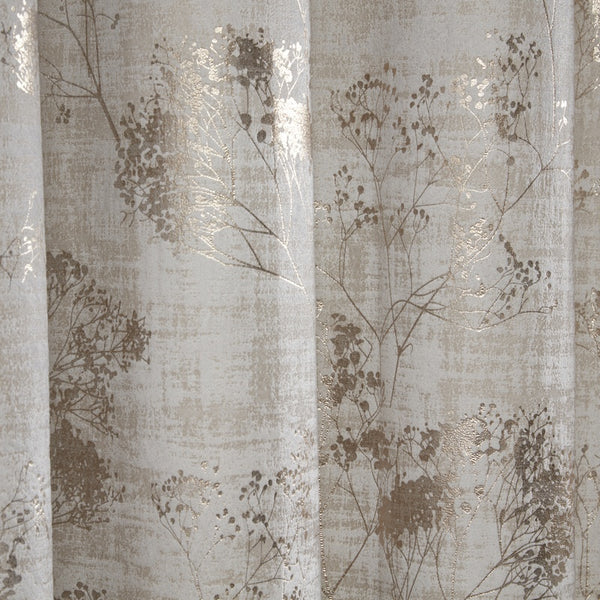 Osaka  Ready Made Eyelet Curtains Natural