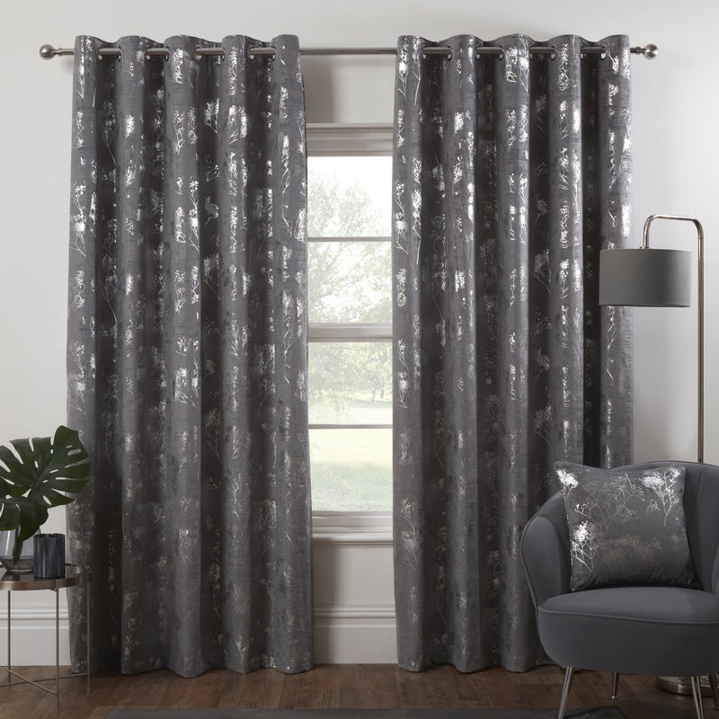 Ideal For Every Home - We Are Loving These Off Black Ready Made Curtains Image