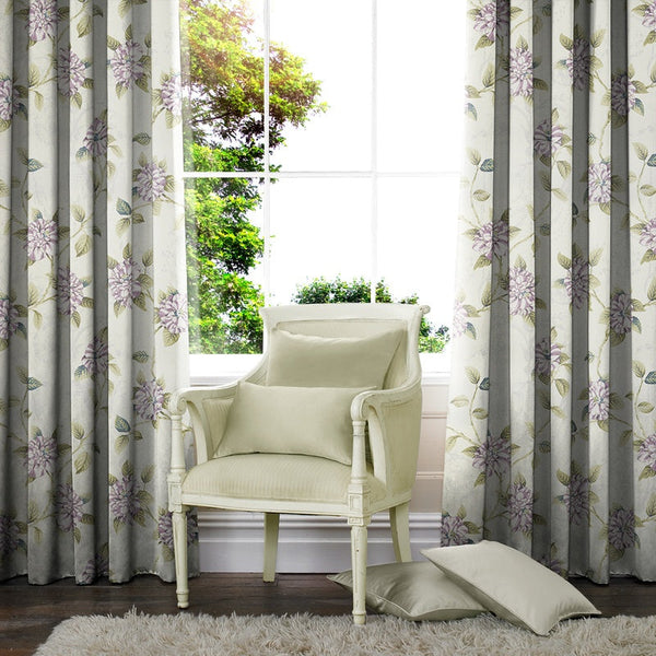 Faith Made to Measure Curtains Lavender