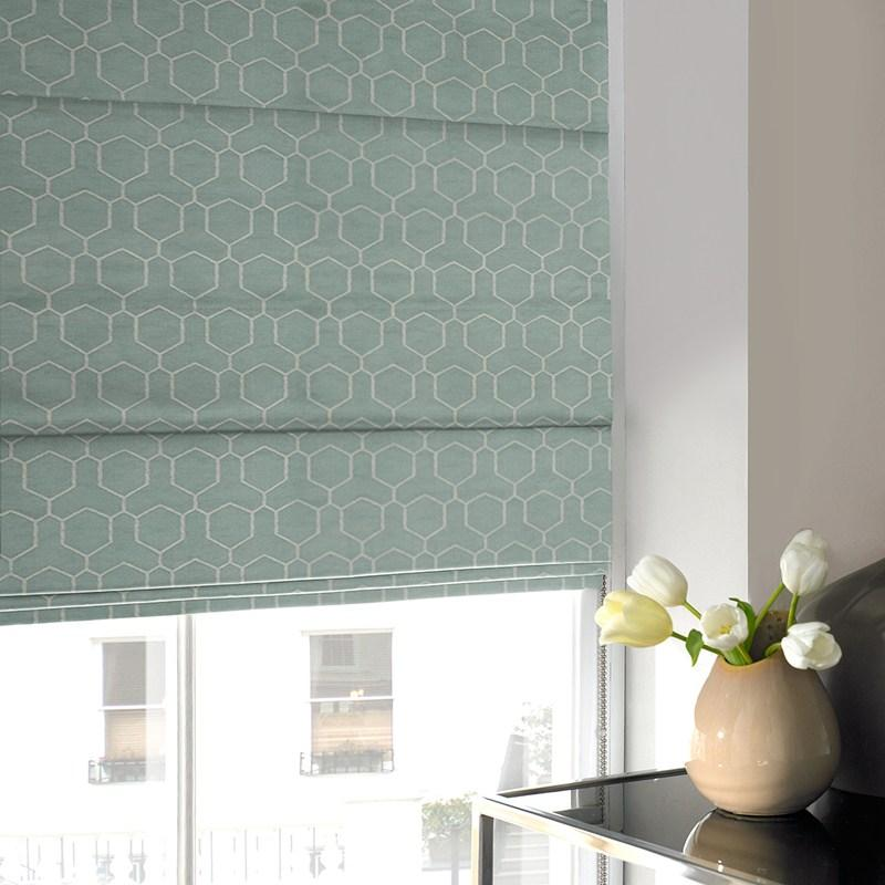 Illuminate Blinds Oxy Roman Blind Duck Egg Picture