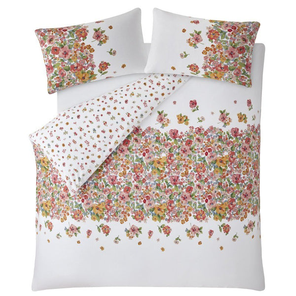 Painted Bloom Bedding Set warm cream