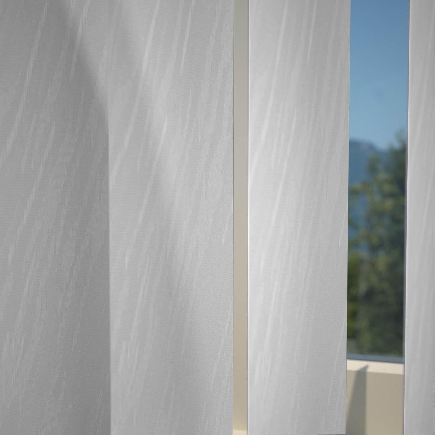 Decora Blinds Palermo Vertical Blind White Picture