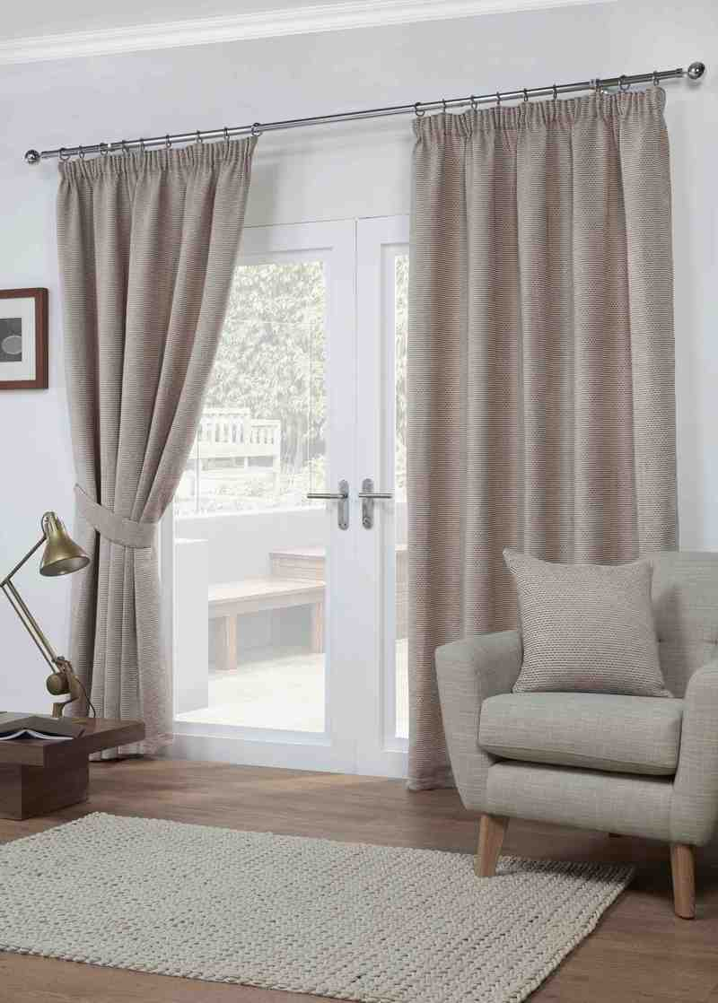 Paloma Ready Made Lined Curtains Mocha