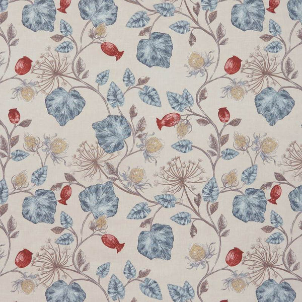 Parchment Curtain Fabric Wedgewood