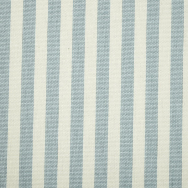 Party Stripe Curtain Fabric Chambray