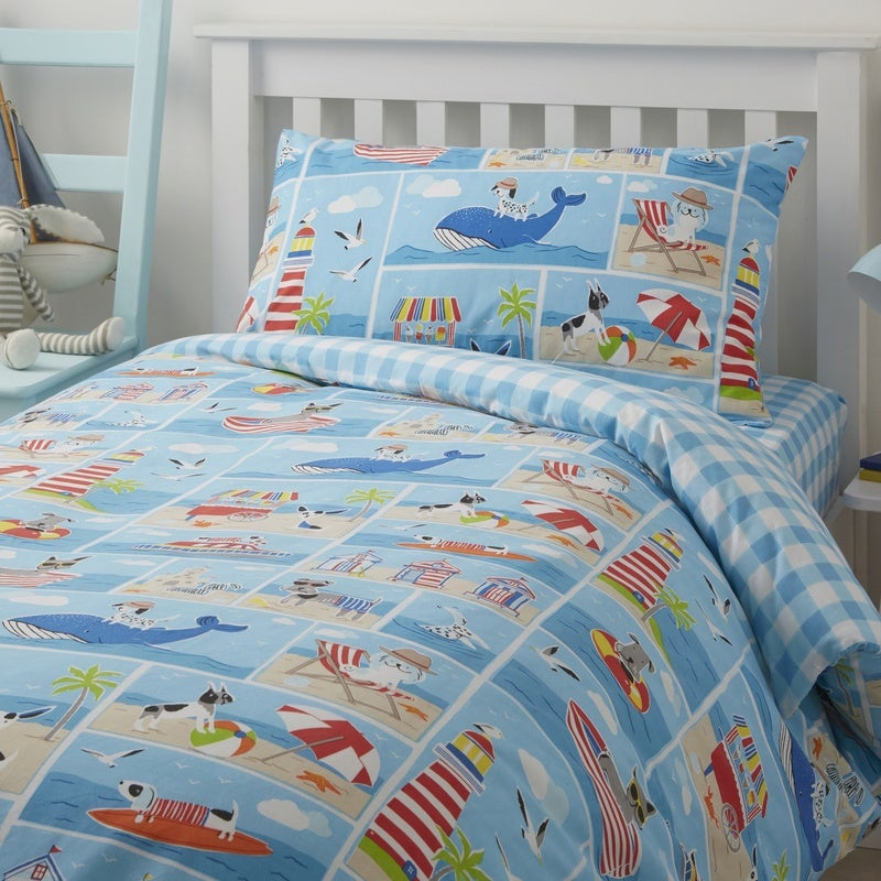 J Rosenthal Bedding Patch Seaside Bedding Set Multi Picture