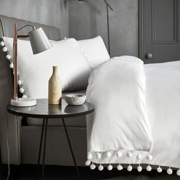 Signature - Pearl Bedding Set White