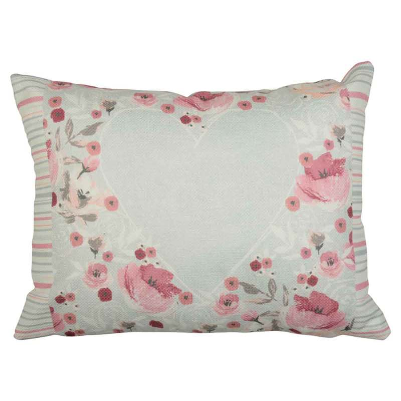 J Rosenthal Cushions And Throws Penelope Filled Boudoir Duck Egg Picture