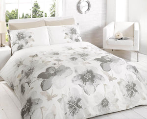 Phoebe Printed Duvet Set Natural