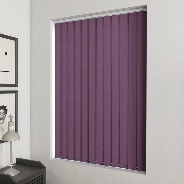 Plain PVC Vertical Blind Aster
