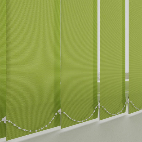 Plain PVC Vertical Blind Lime