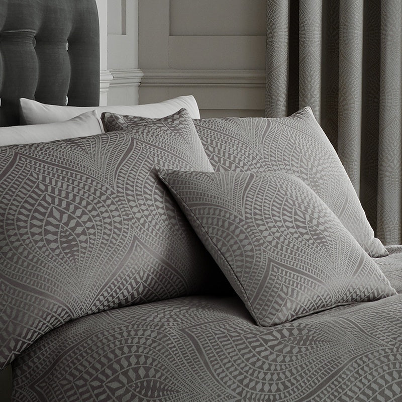 J Rosenthal Cushions And Throws Portobello Filled Cushion Slate Picture