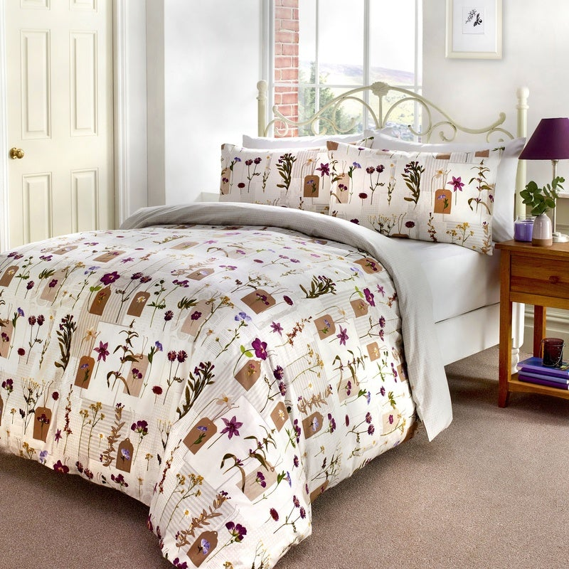 J Rosenthal Bedding Pressed Flowers Bedding Set Multi Picture