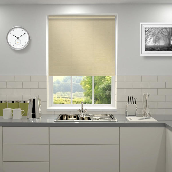 Primary Roller Blind Vintage Antique Cream