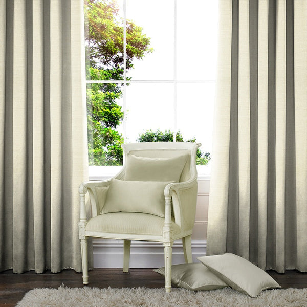 Raphia Made to Measure Curtains Opal
