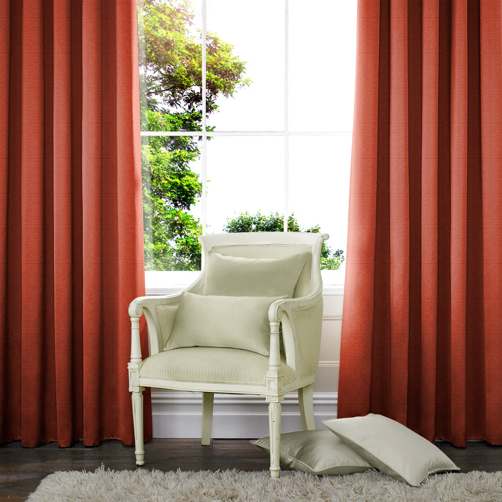 Palm Made to Measure Curtains Spice