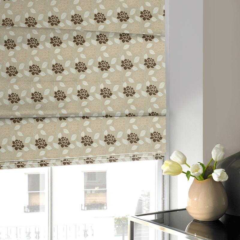 Gordon John Blinds Regency Roman Blind Natural Picture