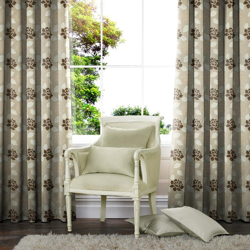 Gordon John M2M Regency Made to Measure Curtains Natural Picture