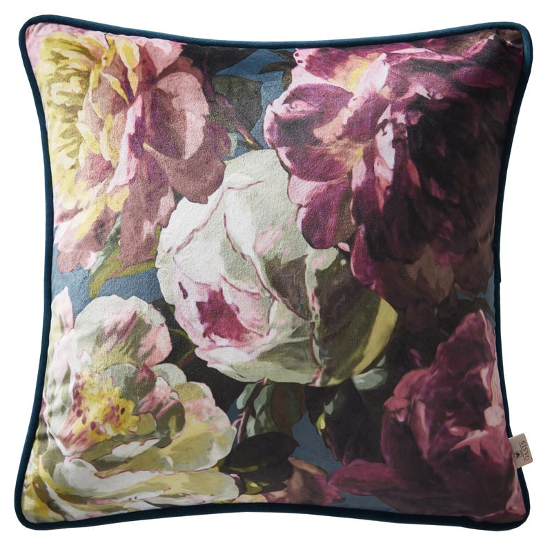 Clarke and Clarke Cushions and Throws Oasis - Renaissance Velvet Filled  ... Picture