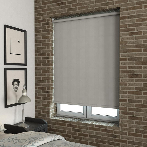 Rib Stripe Blackout Roller Blind Cayo