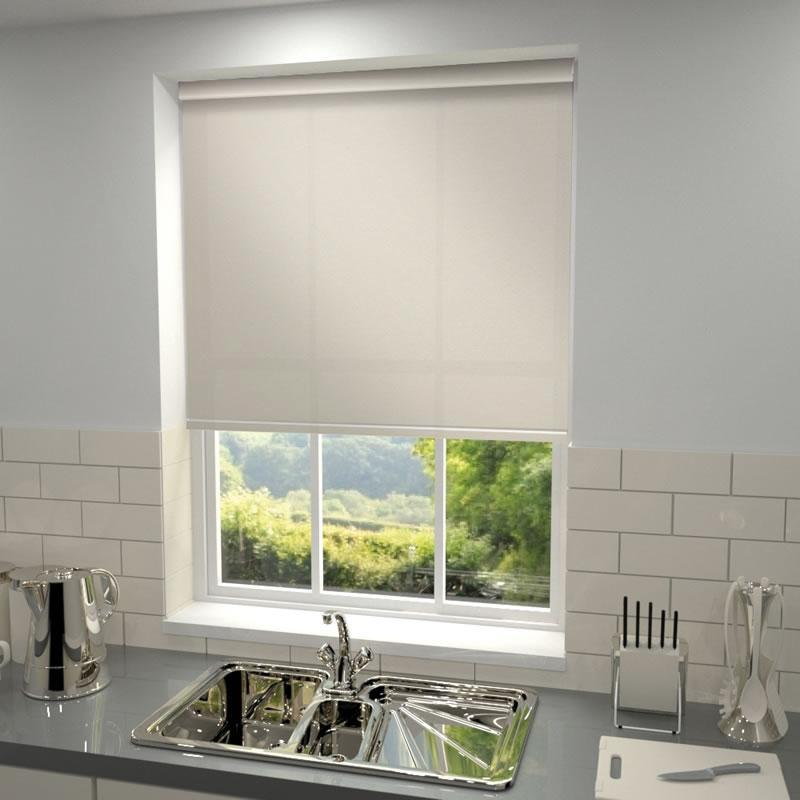 Harris Parts Blinds Riviera Roller Blind Sand Picture