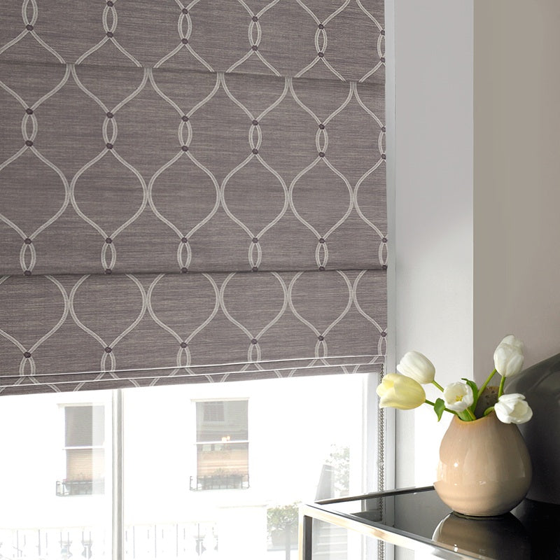 Illuminate Blinds Rockland Roman blind Amethyst Picture