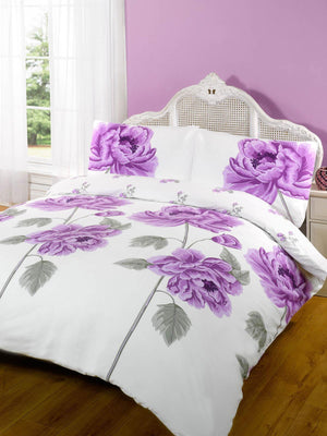 Rosie Duvet Cover Set Heather
