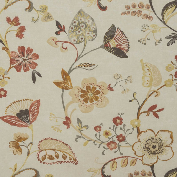 Samara Curtain Fabric Spice