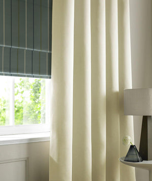 Satin Made to Measure Curtains Ivory Curtain