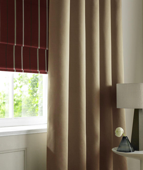 Satin Made to Measure Curtains Mocha Curtain