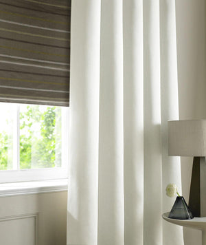 Satin Made to Measure Curtains Pearl