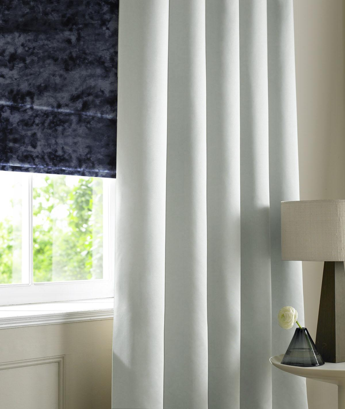 Image of Satin Made to Measure Curtains Silver