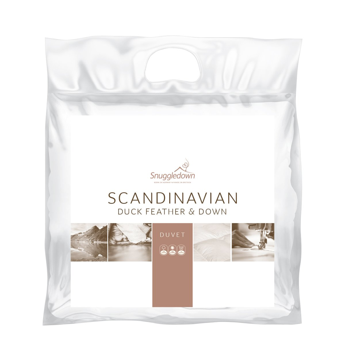 Snuggledown Beds Snuggledown Scandinavian Duck Feather and Down 4.5 Tog  ... Picture