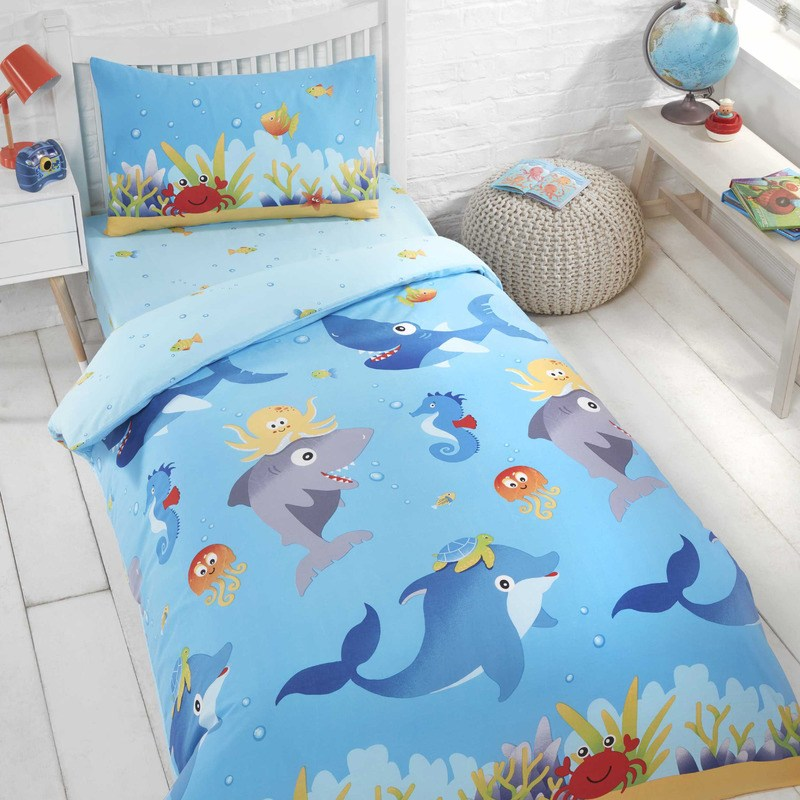 Rapport Beds Sea Life Kids Bedding Set Multi Picture
