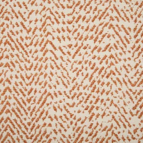 Shelley Curtain Fabric Terracotta