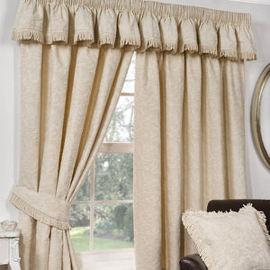 Shetland Ready Made Lined Curtains Natural
