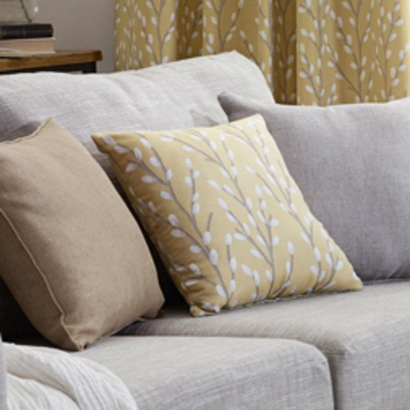 Belfields Cushions And Throws  Sienna C/Cover Ochre