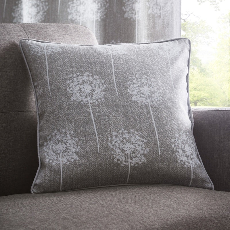 Portfolio Home Cushions and Throws  Silhouette C/Cover Grey