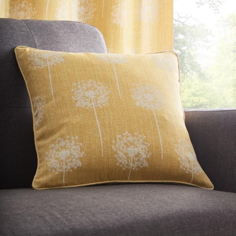 Portfolio Home Cushions and Throws Silhouette C/Cover Ochre Picture