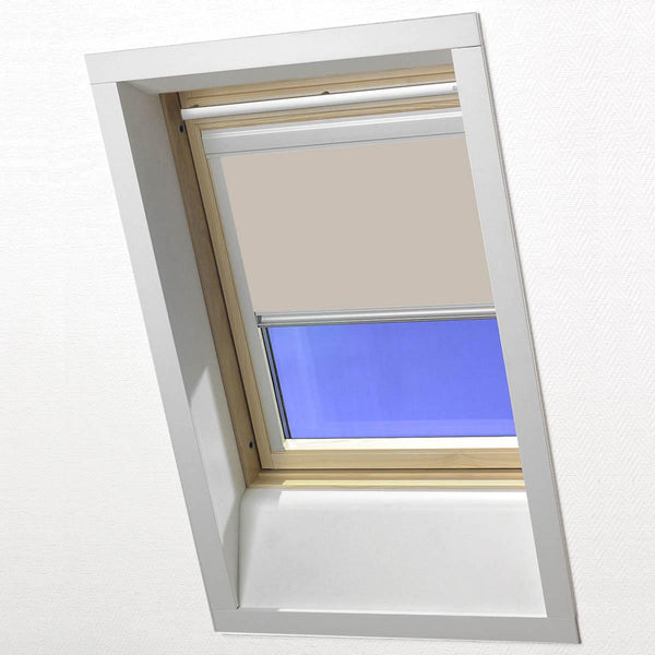 Skylight Blackout Roller Blind Beige