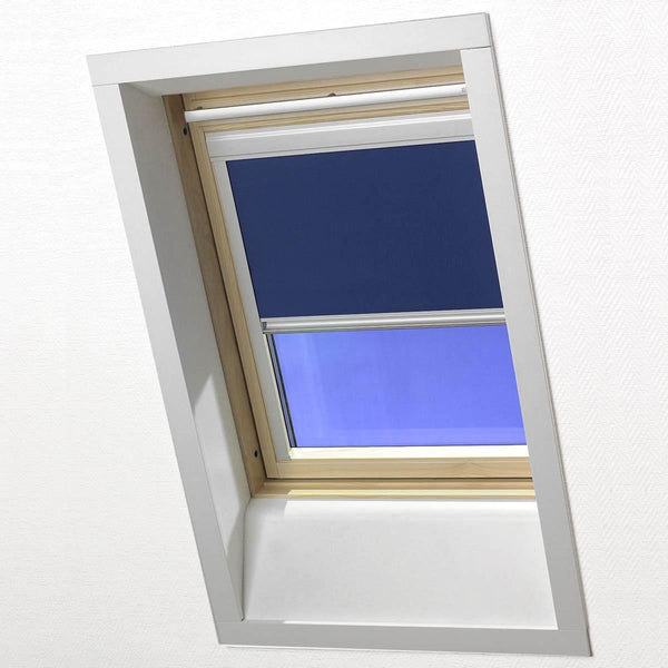 Skylight Blackout Roller Blind Blue