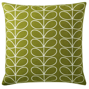Orla Kiely - Small Linear Stem Filled Cushion Apple