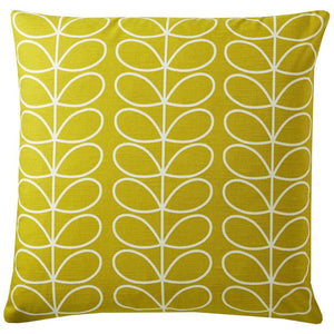 Orla Kiely - Small Linear Stem Filled Cushion Sunflower