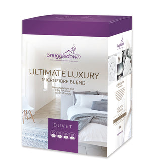 Snuggledown Ultimate Luxury Microfibre and Hollowfibre Blend 10.5 Tog Duvet